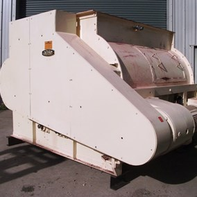 2,000L Tatum Forberg Twin Shafted S/S Mixer 22 kW