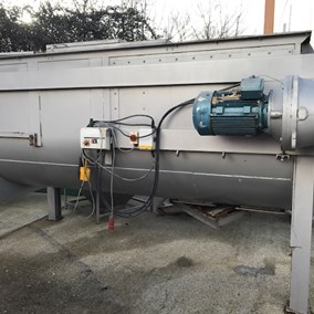 4,300L M/S U Trough Mixer 22 kW