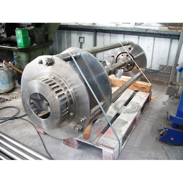 Shear Head Mixer – 45 kW Silverson Duplex Disintegrator