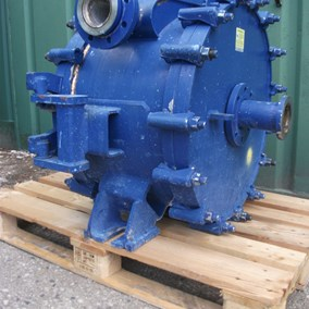 7.43 Sq. M S/S Alfa Laval Spiral Heat Exchanger Type 1H-L-1T