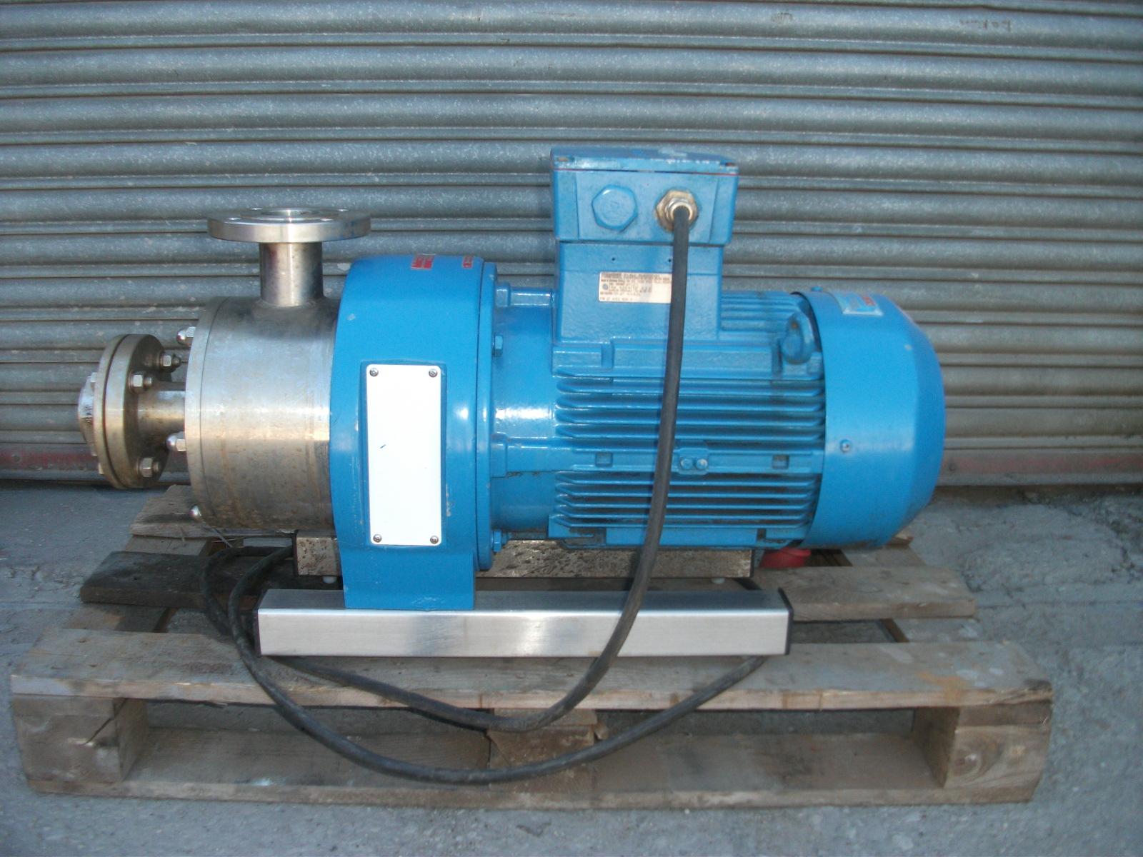 Inline Continuous Stirrer – 7 5 kW FLP Silverson S/S In line